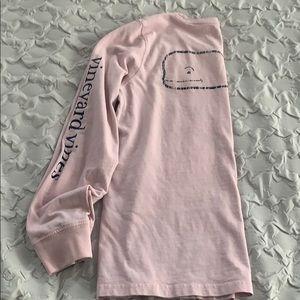 Vineyard vines pink t-shirt size S